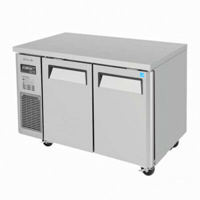 Turbo Air JUR-48 Two-Section Undercounter Refrigerator Stainless Steel Interior