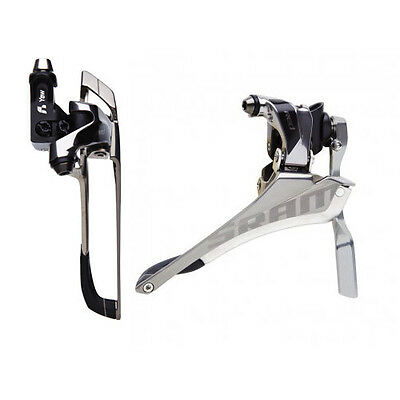 New! Sram Red Front Derailleur Brazeon With Chain Spotter