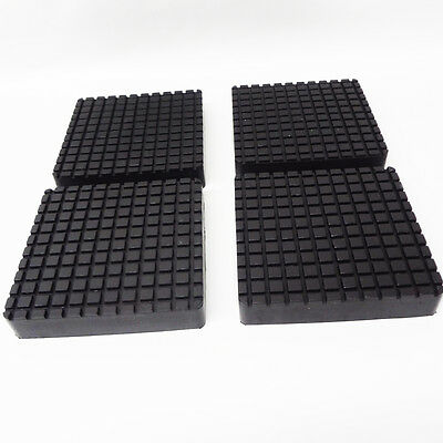 Rubber lift pad set Bendpak 2 post square slip on style 5715365x