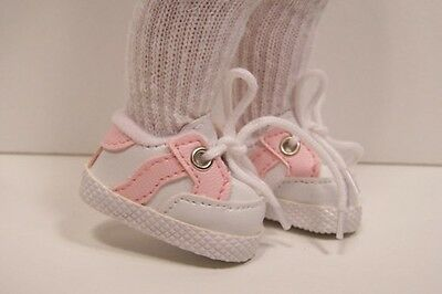 Debs White BROWN Sport Tennis Doll Shoes For10 Ann Estelle Sophie Patsy Michael