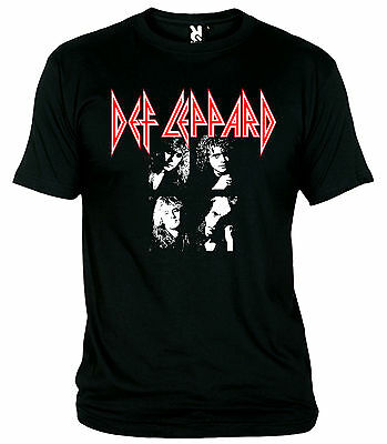 "Camiseta ""def Leppard-Band-Hard Rock"" T-Shirt"