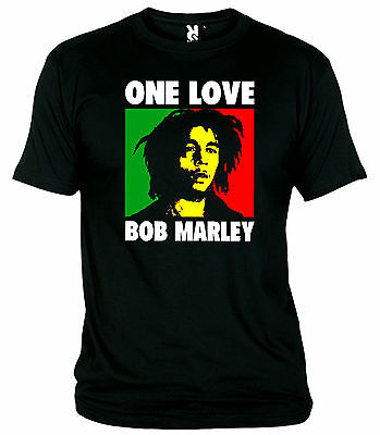 "Camiseta ""bob Marley-One Love"" T-Shirt"