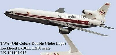 Flight Miniatures TWA Trans World Airlines Lockheed L-1011 Tristar 1:250 Sc 1964