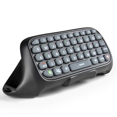 Wireless Keyboard Live Text Messenger Chat Pad for Microsoft Xbox 360 Controller