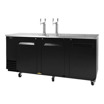 "TURBO AIR TBD-4SB 90"" Direct Draw Draft Beer Dispenser Bar Cooler"