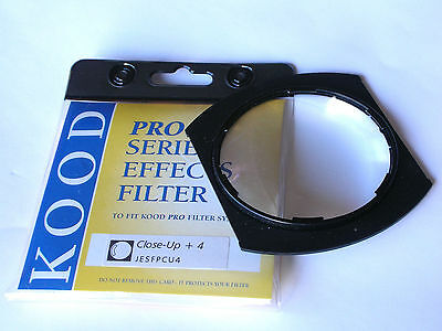 Kood P Series Close-Up +4 Diopter Lens Filter Fits Cokin P System