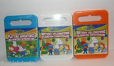 New Sealed Lot Of 3 Treehouse Birthday Celebration Dvd Movies Vol 1 & 2 Max Ruby
