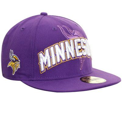 ee72c11ff92eab Minnesota Vikings NFL Draft Night Hats New Era 59Fifty Fitted Hat Authentic