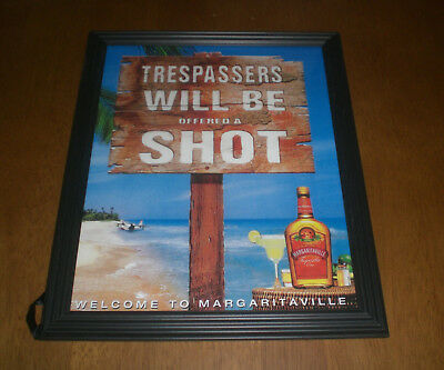 Margaritaville Tequila Framed Color Ad Print