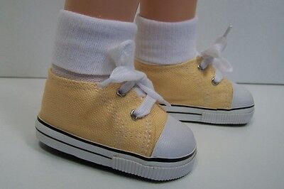 LT GREEN Canvas Tennis Deck Sneakers Doll Shoes For Chatty Cathy Debs