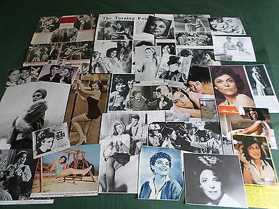 Anne Bancroft - Film Star- Clippings-Cuttings Pack