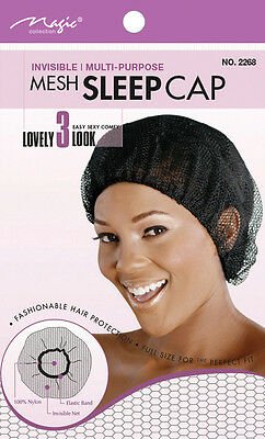 Magic Collection Mesh Sleep Cap Invisible Multi-Purpose #2268