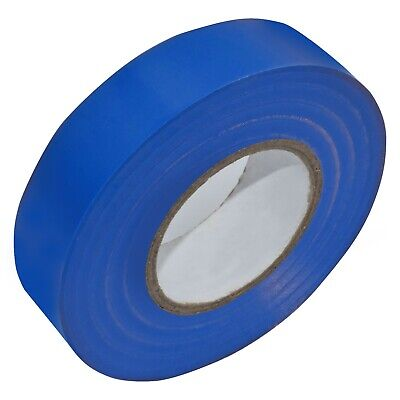 DARK BLUE ELECTRICAL PVC INSULATION / INSULATING TAPE 19mm x 20m FLAME RETARDANT
