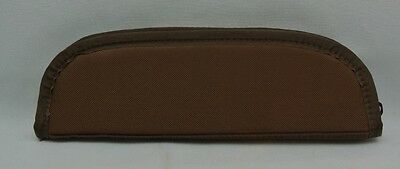 "CANVAS CORDURA KNIFE CASE 10"" w / SHEATH STRAPS Brown Fit Randall Knife SET OF 6"