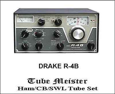 DRAKE T-4XB Complete Primo Tube Set all tubes+finals