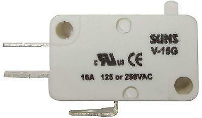 SUNS V-15G Miniature Basic 15A Snap Action Plunger Micro Switch