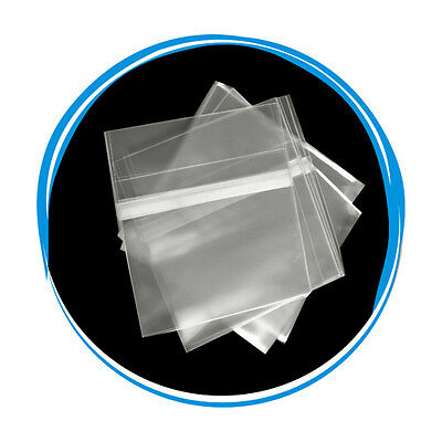 5000 OPP Resealable Plastic Wrap Bags for 5.2mm Slim Jewel Case Peal & Seal
