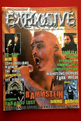 Rammstein Unique Cover Ac/dc 2003 Exyu Metal Magazine