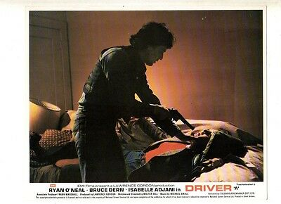 Uk Lobby Card - 8X10 - Action Shot - The Driver