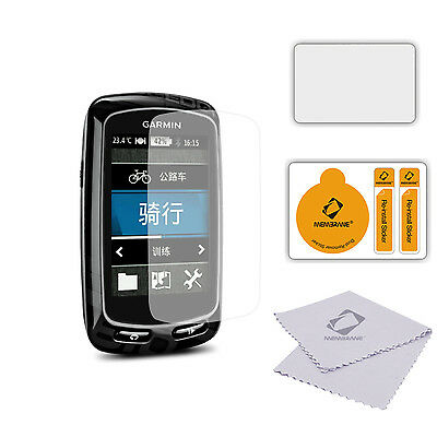 3 x Anti Scratch Screen Protectors for Garmin Edge 810 - Glossy Cover Guard
