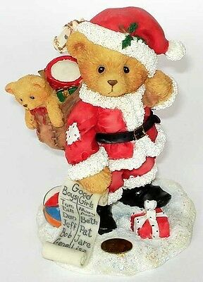 """Cherished Teddies: Nickolas """"You're At The Top Of My List"""""""