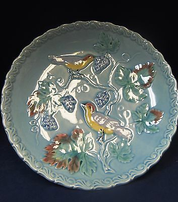 Highmount West Germany Majolica Cake Plate: NEW PRICE!!