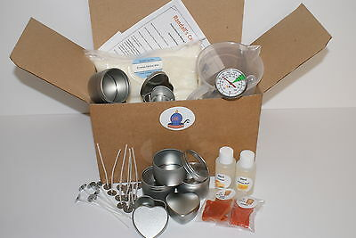 Complete Beginners Candle Making Kit. Make beautiful candles in tins