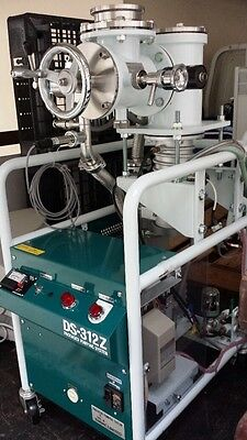 DIAVAC DS-312Z PACKED PUMPING SYSTEM , DPF-3Z DIFFUSION PUMP , Rotory GHP-150B