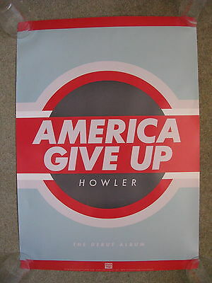 Howler - America Give Up - PROMO POSTER