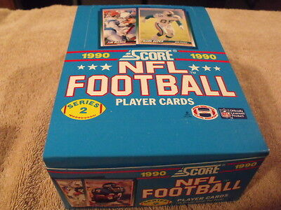 Nfl Football Cards Complete Set Topps Score 1989 1990 Card