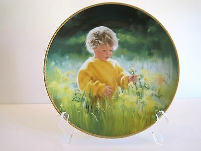 "Our Children, Our Future Plate Collection:  ""A Time For Peace""  by Donald Zolan"