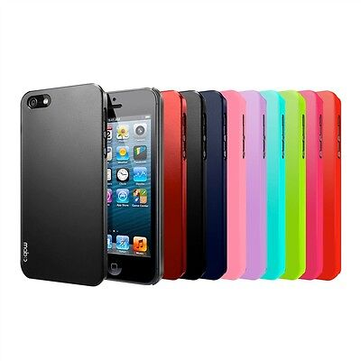 Apple iPhone 5S / 5 Case Hard Ultra Slim Fit Protective Skin Cover Glossy/Matte