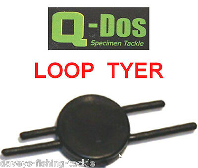 Q-Dos LOOP TYER FOR MATCH FEEDER FLOAT QUIVER POLE CARP FISHING ROD HAIR RIGS