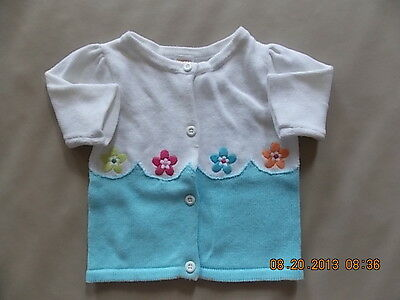 NWT Girl's Gymboree Rainbow Cabana button up sweater ~ 3 6 12 18 24 months 2T