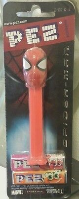 NEW! Spiderman Pez on Movie Card - Mint on Card (MOC) - Never Opened