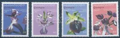Georgia stamp Orchids set MNH 2005 Mi 495-498 WS130520
