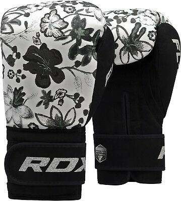 RDX Ladies Boxing Gloves Punching Bag Women Muay Thai Mitts Sparring Training