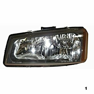 05-06 Chevy Avalanche Left Driver Headlamp Assembly without Lower Cladding