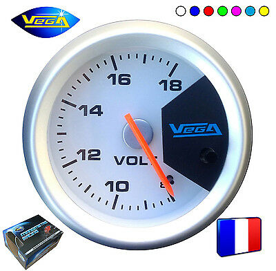 ► Manomètre Voltmètre Racing Trisco® 52mm 8-18V ◄