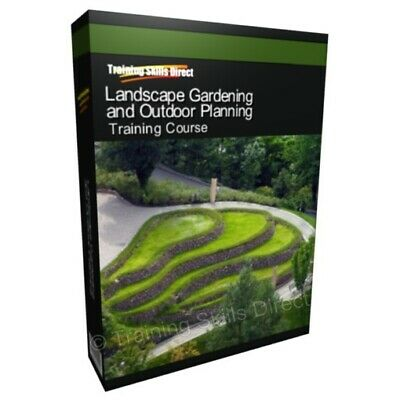 Learn Landscape Garden Outdoor Planning Design Training Course Manual Guide