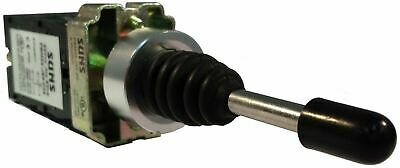 SUNS PBM22-JS3H-M-P7 22mm Joystick 3 Position 2 Direction Metal Maintained 2NO