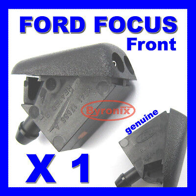 Ford Focus Mk2 & C-Max Front Windscreen Washer Jet X 1 Spray Nozzle Genuine