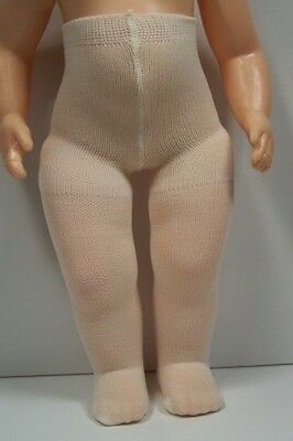 "Solid CREAM Plain Tights Doll Clothes For 16"" Terri Lee DEBs"