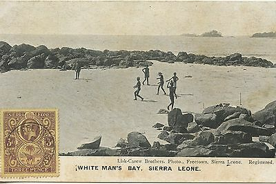 Postcard / English Colonies / Sierra Leone White Man's Bay /
