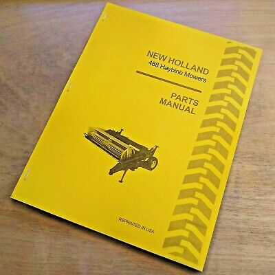 Details about  /New Holland 275 Hayliner Assembly Information and Pre-Delivery Service Manual 66