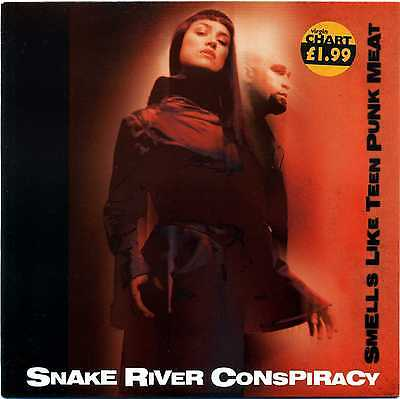 """7"""" 45 Snake River Conspiracy - Smells Like Teen Punk Meat: Somebody Hates You"""