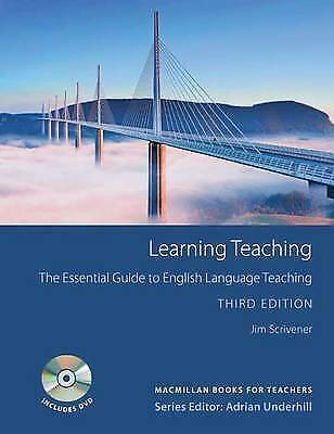 Macmillan LEARNING TEACHING Third Edition with DVD by Jim Scrivener @NEW BOOK@