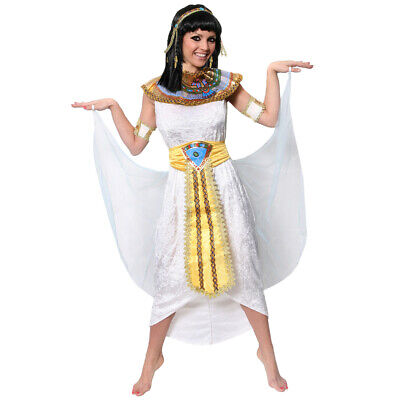 Egyptian Woman Costume Queen Of The Nile Cleopatra Historical Fancy Dress Adult