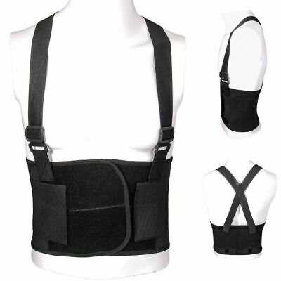 Adjustable Back Support Lumber Belt Brace Work Office Warehouse Gym Home Posture