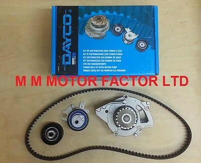 PEUGEOT 307 2.0 HDi 135BHP (04-) DAYCO ENGINE TIMING CAM BELT KIT AND WATER PUMP